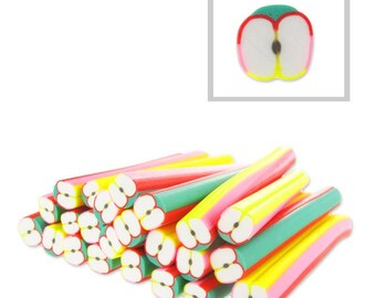 Fimo canes Apple Lady 50 mm * 2