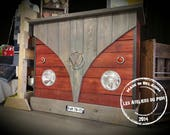BAR / counter Combi, wood pallets, steel and VW parts