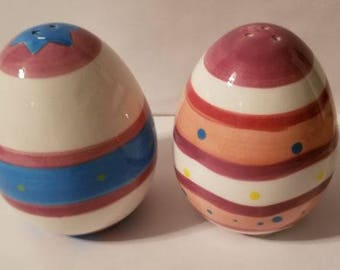 Easter Egg Salt & pepper Shakers