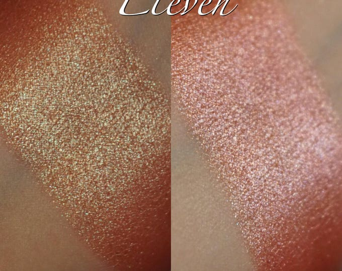Eleven - peach, teal, green, pink Super Color Shift eyeshadow
