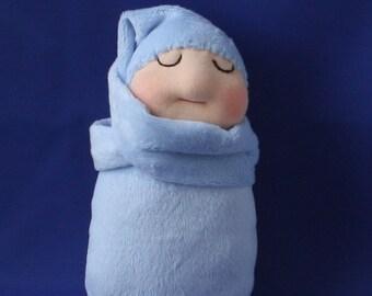 Cuddle Doll, Doll, Snuggle Doll, Baby, Waldorf, Waldorf Doll, Baby Doll, Baby's first doll,