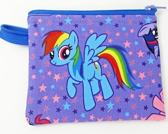 My Little Pony, credit card case, change purse, business card holder, coin wallet, womens change purse, credit card wallet, mini wallet
