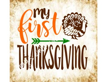 my first thanksgiving svg dxf