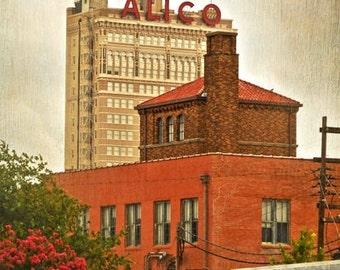 """Waco, Texas - """"Waco Alico"""" - (Image is vertical)"""
