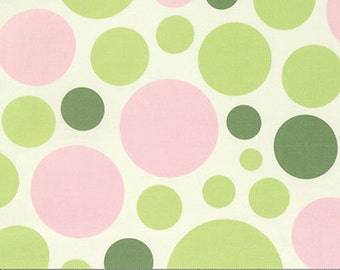 Heather Bailey Cotton Dream Dot in Celery from The Nicey Jane Collection 1/2 yard
