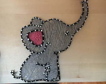 String Art- Elephant