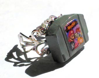 Nintendo 64 Inspired Adjustable Ring (Choose Game/See Photos/Read Full Details)