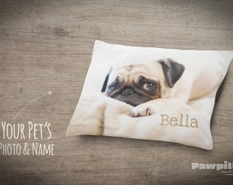 Custom Dog Bed - Custom Photo Pet Bed - Photo gifts - Personalized Pet Pillow - Personalized Pet Bed - Custom Dog Bed - Custom Dog Pillow