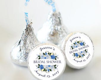 108 Bridal Shower Hershey Kiss® Stickers  - Bridal Shower Kiss Labels - Candy Labels - Custom Labels - Bridal Shower Favors - Candy Stickers