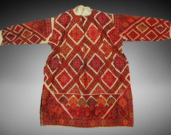 antique Traditional swat-vally Pakistan dress Late 19th or early 20th century no:18/12
