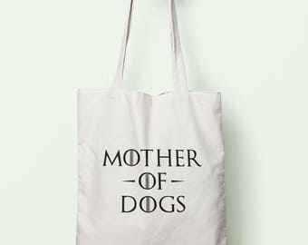 Mother Of Dogs Tote Bag Long Handles TB0978