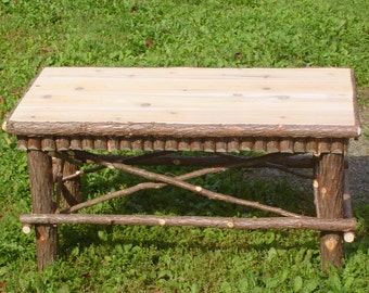 Twig Coffee Table,Twig Furniture,Maine Made