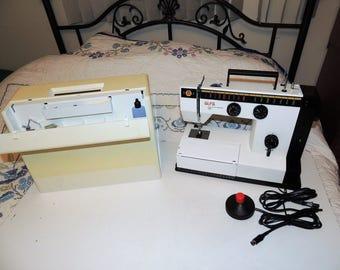 ALFA Electronic Sewing Machine Model 3845 Working RARE w manual