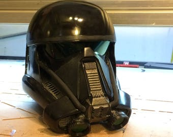 DTx2 Cast Resin Death Trooper Helmet