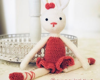 Amigurumi Ballerina Rabbit Bunny