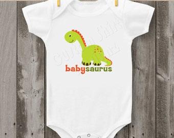Babysaurus Dinosaur (Design #2) Bodysuit or T-Shirt