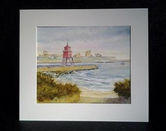 The Groyne Light, Tynemouth Harbour.