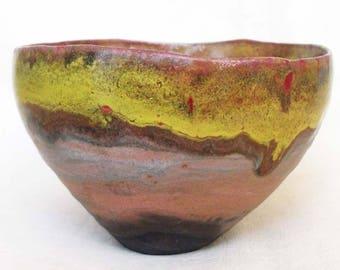 Tea Bowl, Chawan, Tea Cup, handmade,collectible ceramic and pottery, Wabi Sabi, Matcha green tea, Japanese Tea ceremony.