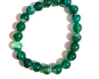 Jaded - Gemstone Bead Bracelet
