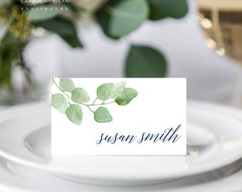 Eucalyptus - Place Cards (Style 13658)