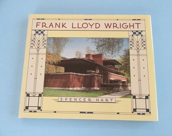 Frank Lloyd Wright by Spencer Hart -1996-coffee table book-great photographs-Architecture - history - homes - buildings - furniture - garden