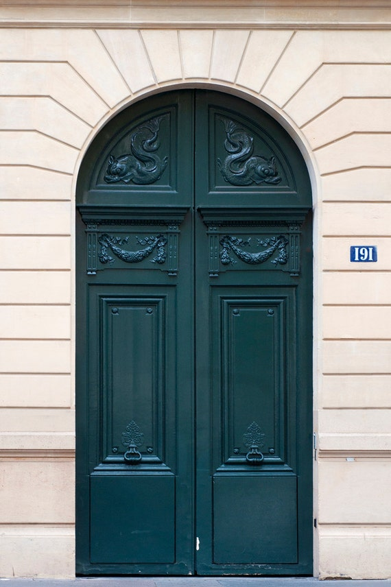 & Paris Photo The Green Door Architectural Fine Art