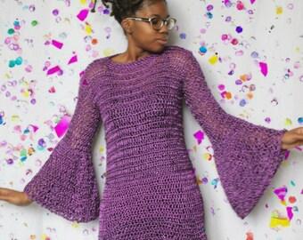 The New Years Dream 2016 Crochet Dress Pattern.