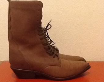 Vintage Acme 1970's Rhianon boot