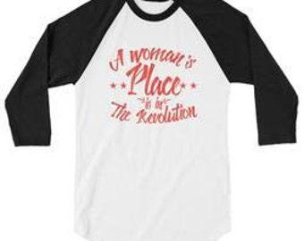 A Woman's Place Baseball Tee