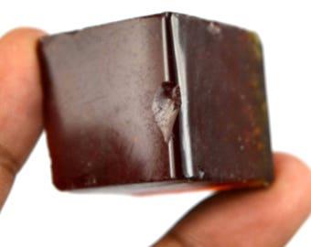 177.85 Ct. Uncut Brazilian Reddish Orange Topaz Gemstone Rough Christmas Gift