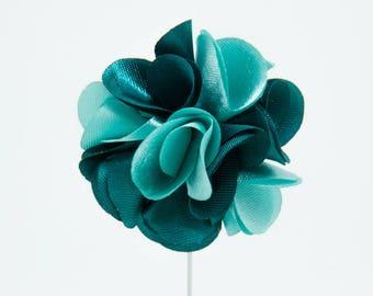 Karen Green Flower Lapel Pin