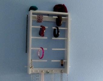 Bracelet Holder & Necklace holder Wall Mounted - Organize your Bracelets and Necklaces