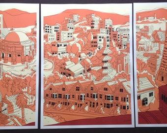San Francisco triptych