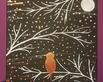 Breezy Night Bird
