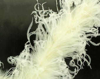 Curly Ostrich Marabou Feather Boa - Choose Color