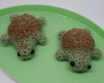 Matcha Turtle Bread Amigurumi