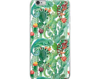 Chameleon iPhone Case, iPhone 7 Plus Case, iPhone 8 Plus Case, iPhone X Case, iPhone 7 Case, iPhone 8 Case, iPhone 6s Plus Case, Chameleon