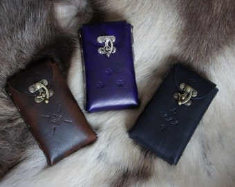 Real Leather Phone Pouch