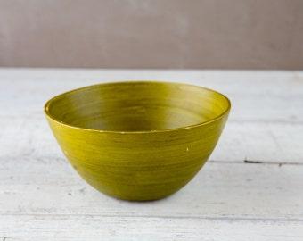 Green Bamboo Bowl-Food Photography Prop