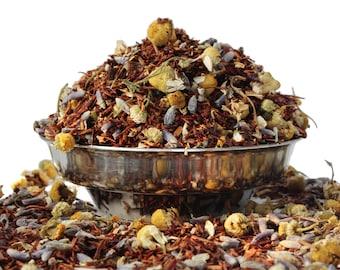 Quiet Time Rooibos Herbal Tea -  Rooibos Loose Leaf - Tea - Caffeine Free Tea - Sleep tea - Calming Tea - Lavender Tea - Tea Gift