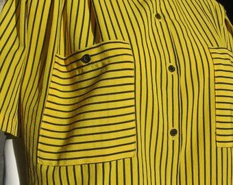 vintage mod top blouse