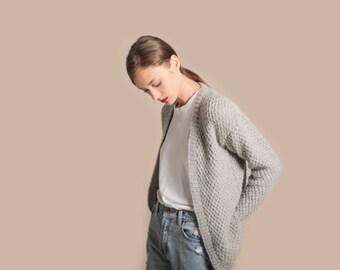 Hackney Cardigan knitting kit