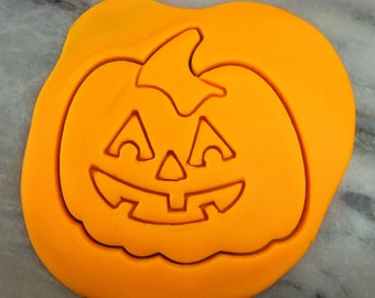 Jack-o-lantern Cookie Cutter - SHARP EDGES - FAST Shipping - Choose Your Own Size!