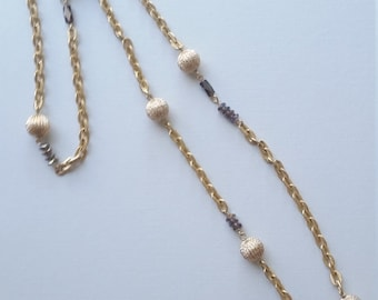 Gold Blitz Necklace