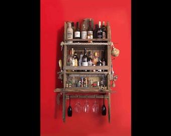 Castaway Drinks Rack