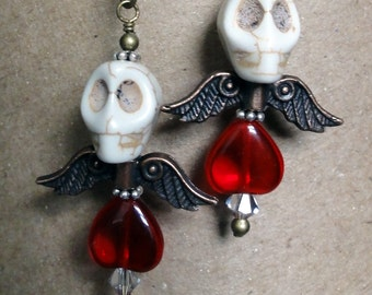 Dia de los Muertos Earrings - Calavera Earrings