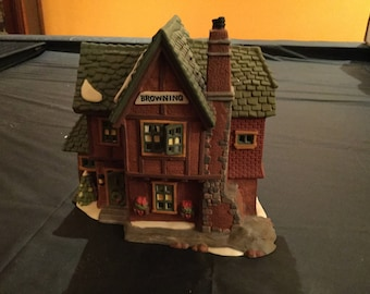 Department 56 Browning Cottage Ret