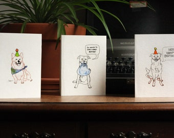 Custom Pet Portrait Greeting Cards