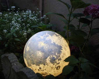 lebendige Mond