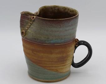 Ceramic Pitcher, Stoneware, Hand Made Pottery, Unique Gift 1